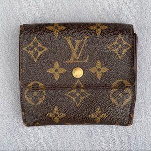 Authentic Louis Vuitton Elise Monogram Wallet